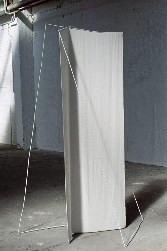"Installation ""Stoff – Metall"""